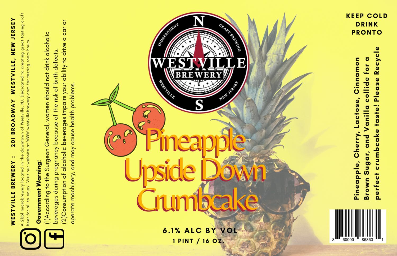 Pineapple Upside Down Crumb Cake Milkshake Pale Ale - 6.1% ABV 4 - Pack