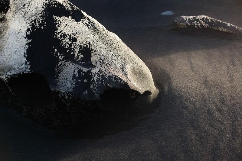 Iceland black ice