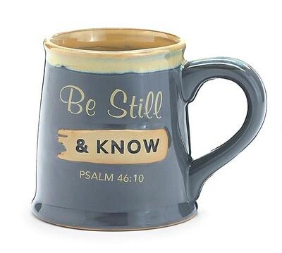 Mug Be Still and Know