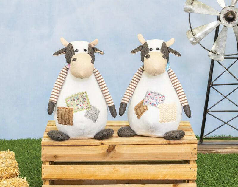 Quilt Patch Cow Sitter-2097-HEM