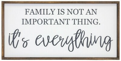 Family is Everything Sign-2091-HEM