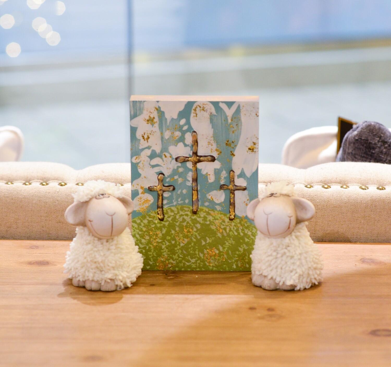 Simple Spring Sheep