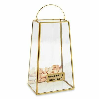 Brass Cork Display Box