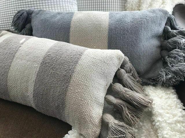 Stripe Tassel Pillows