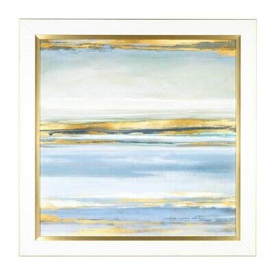 "Art Gold Tide 36""x36"" - CHR"