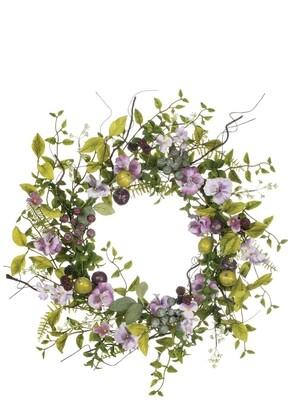 Pansy Wreath