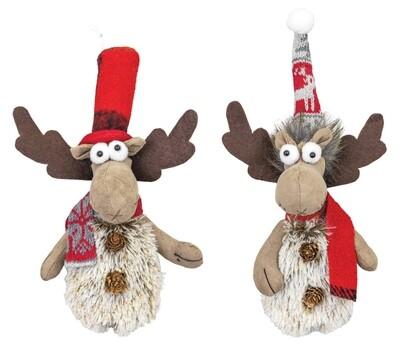 Woolly Winter Moose Orn