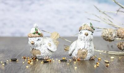 Snow Bark Bird