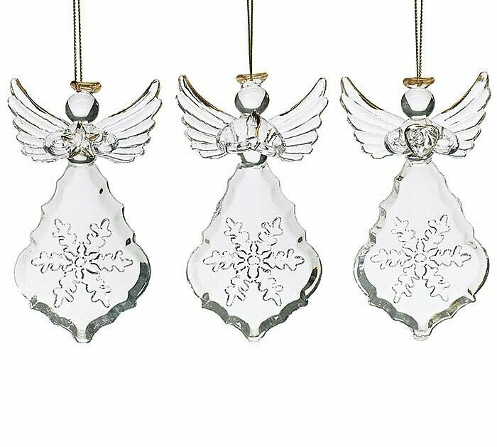 Orn Glass Angel