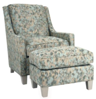 Stephanie Chair & Ottoman - NOR