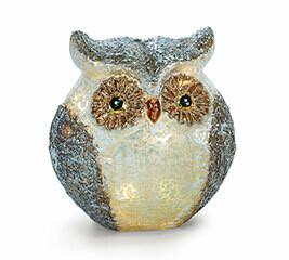Glass Owl Lights
