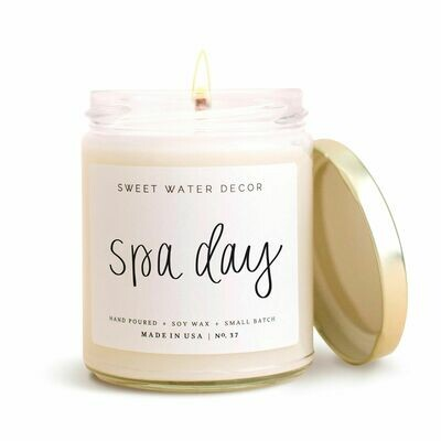 Spa Day Soy Candle-3409-HEM