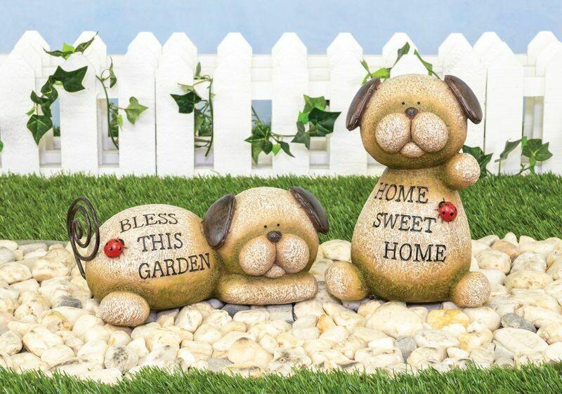Playful Pup Stone - 2133 - HEM