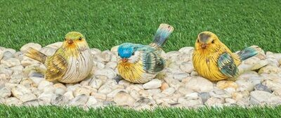 Flocked Friend Bird-2141-HEM