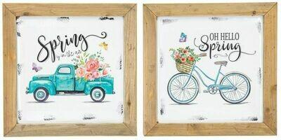 Spring Cycle Truck Hanger - 2135 - HEM