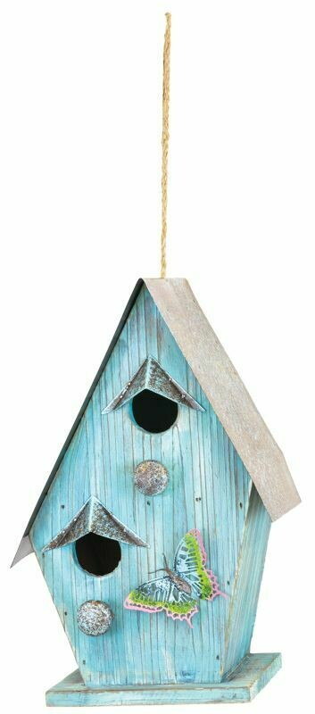 Butterfly Birdhouse - 2136 - HEM
