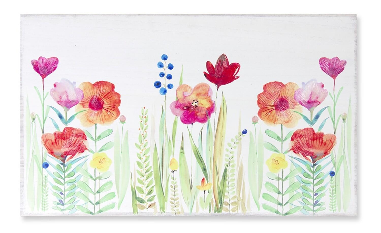 Floral Watercolor - 2816 - HEM