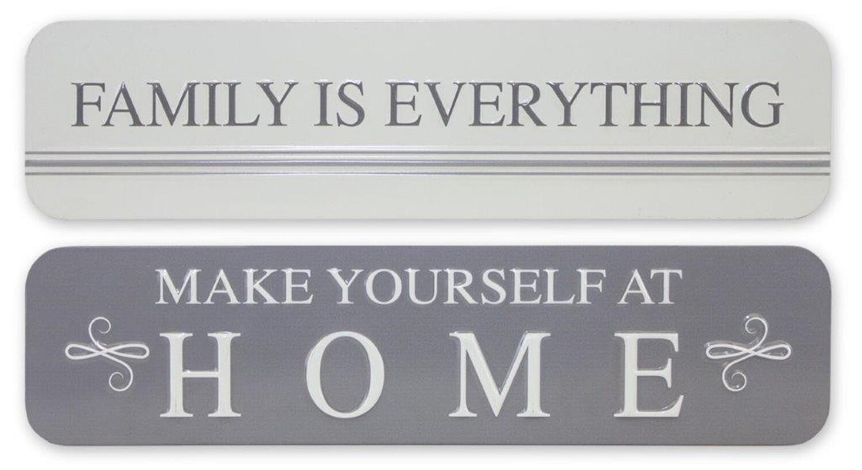 Home & Family Sign - 2819 - HEM