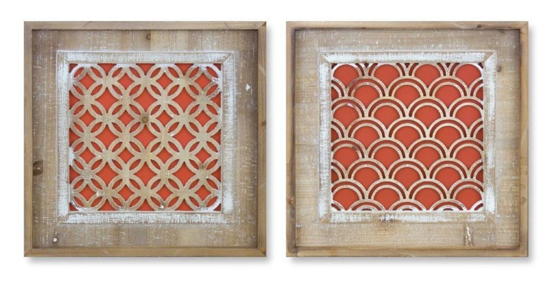 Orange Wood Hangings - 2829 - HEM