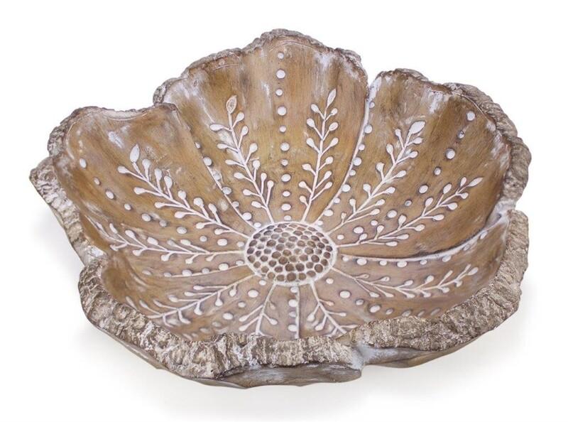 Wood Flower Bowl - 2830 - HEM