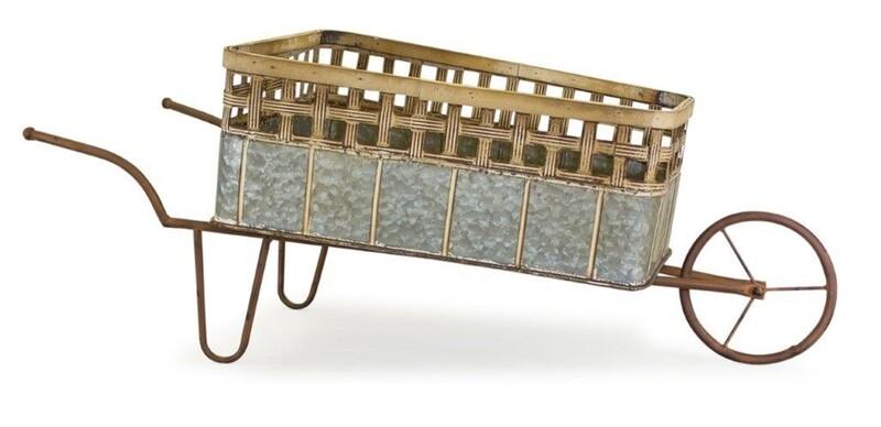 Wheelbarrow Planter - 2843 - HEM