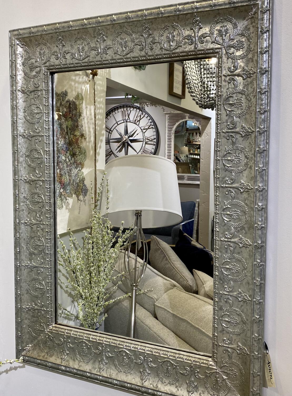 Embossed Galvanized Mirror - VIP