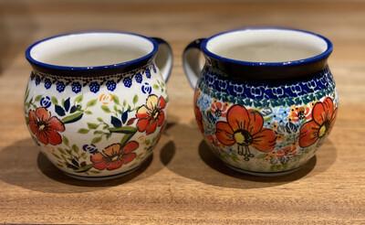 Polish Pottery Bubble mug 10.8 oz - Laurel