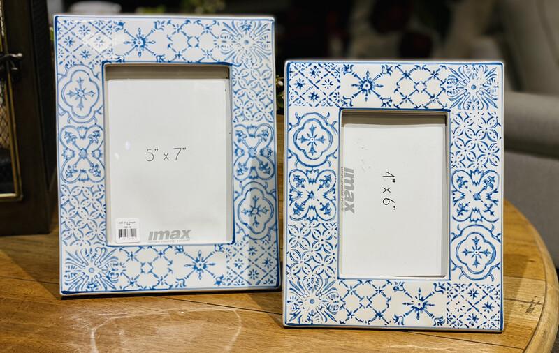 5X7 Blue Frame - DEB