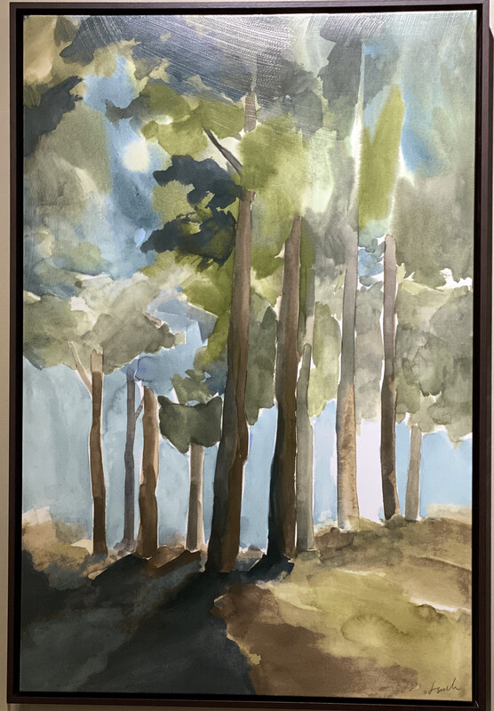 SUNSHINE THROUGH A FOREST - DEB