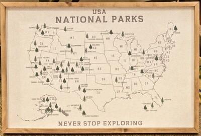 Map Pin Boards 24x36 - LTIM