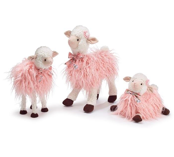 Pink Lamb Family - 2579 - HEM