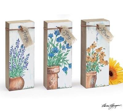 Shelf Sitter Wild Flowers - 2580 - HEM