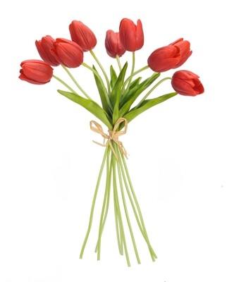 "Tulips Orange/Red 15"" Bundle-2850-HEM"