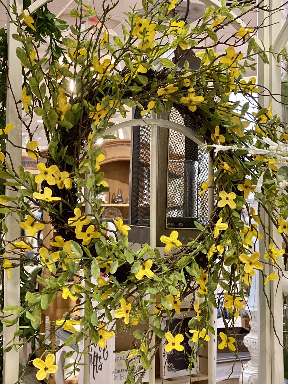 Forsythia Wreath - K&K