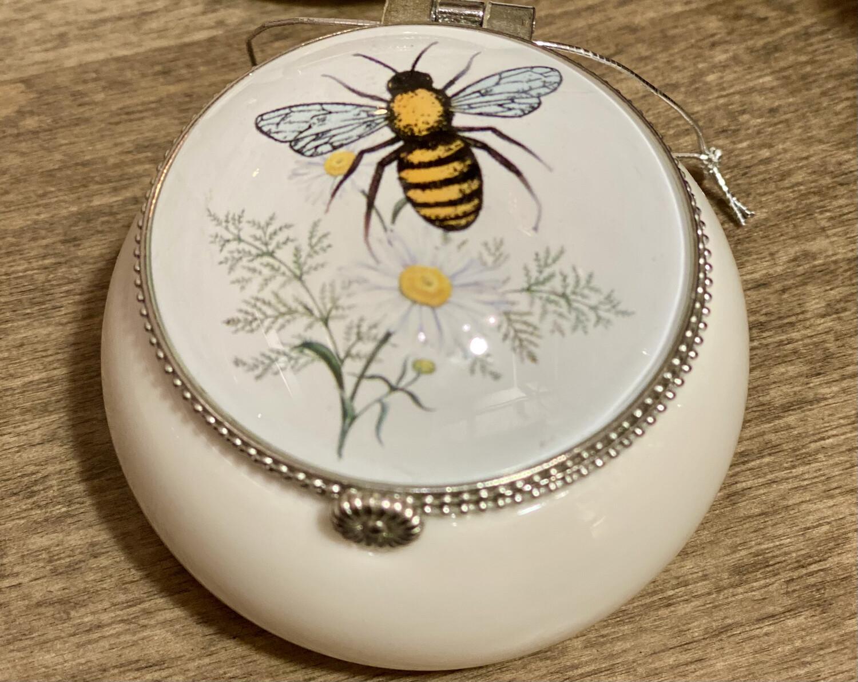 Honey Bee Round Box - K&K