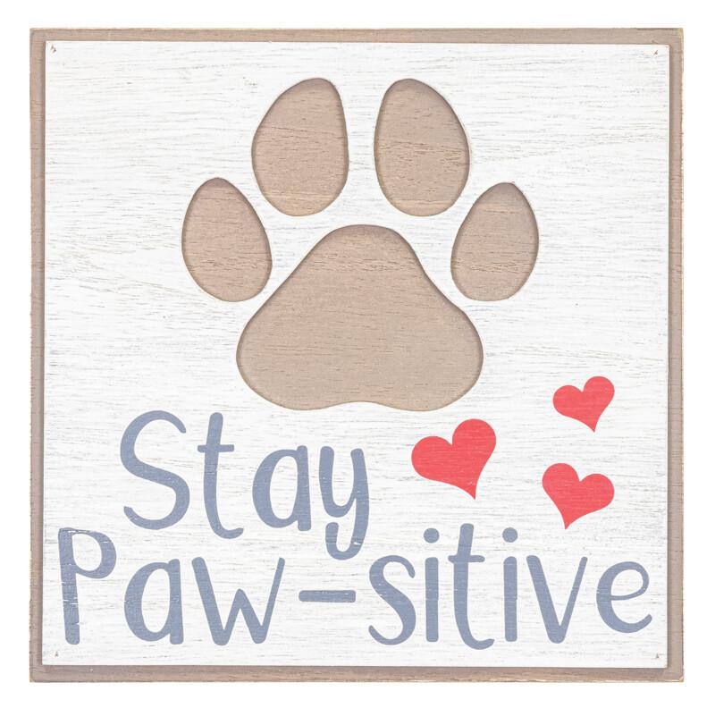 Stay Paw-sitive Heart Block-2144-HEM