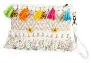 Boho Woven Clutch Bag Multi - 1201 - HEM