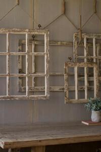 Window Frame Wall Art Med - 1401a - HEM