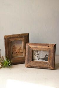 Recycled Wood Photo Frame Med - 1406 - HEM