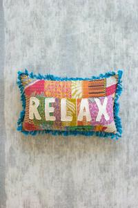 Relax - Kantha Pillow - 1407 - HEM