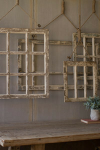 Window Frame Wall Art Large - 1401b - HEM