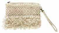 Boho Woven Clutch Bag Natural - 1202 - HEM