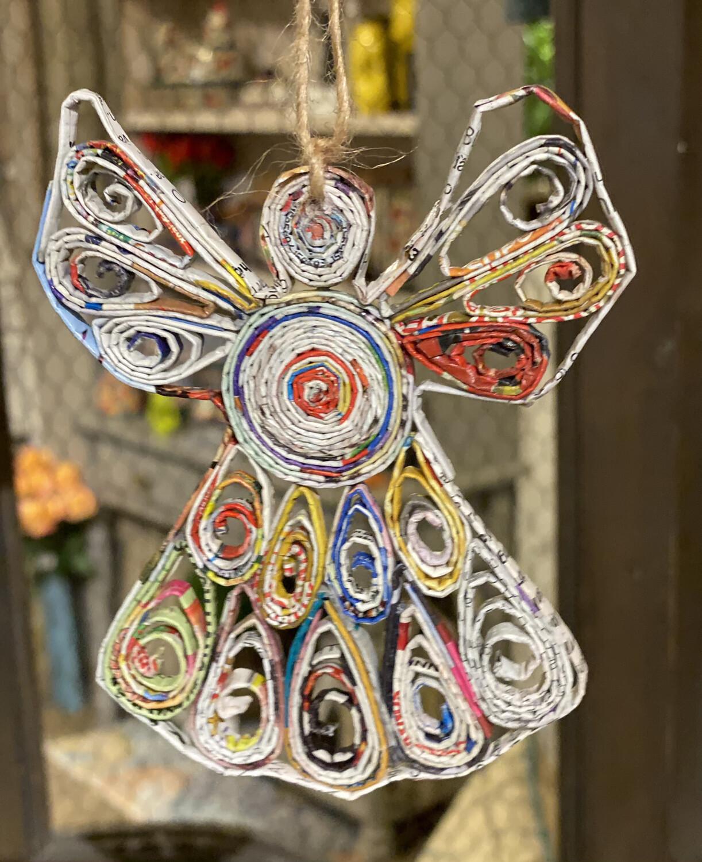 Angel Ornament Recycled Paper - 1216 - HEM
