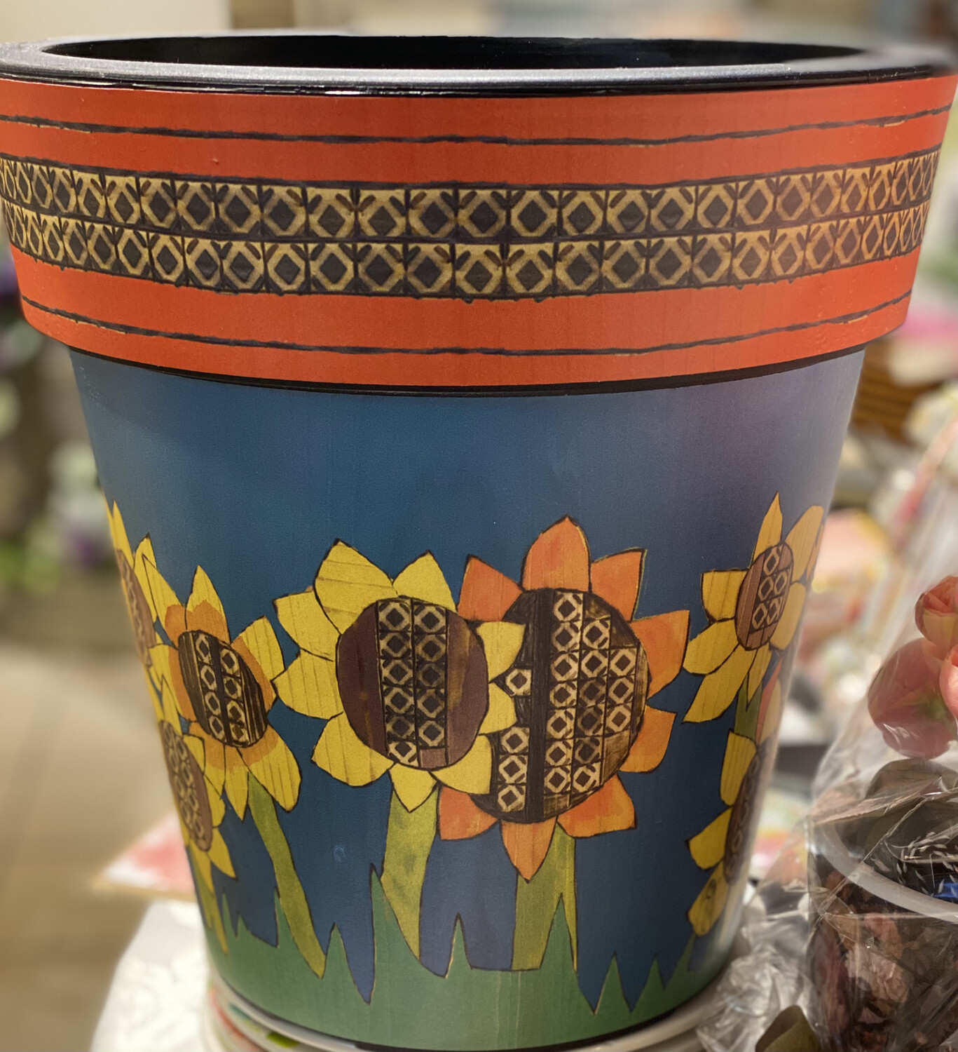 Sunflower Art Pot - ASTM