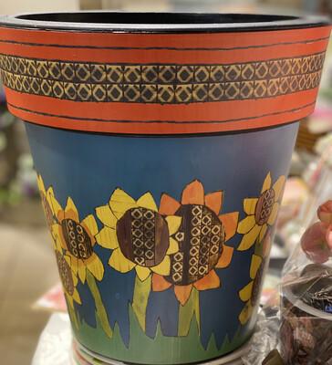 Sunflower Art Pot - ASTM