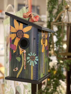 Sunflower Birdhouse - ASTM