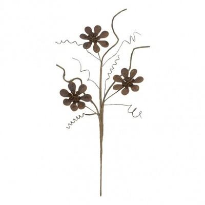 "Metal Flower Pick Spray 21""-1801-HEM"