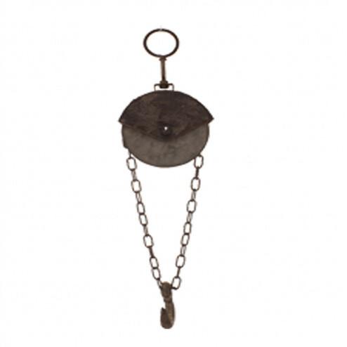 Small Galvanized Pulley Hook-1802-HEM