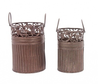 Copper Mini Planters-1805-HEM