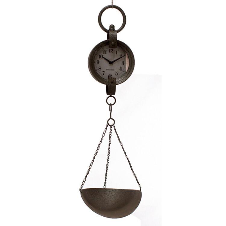 Shovel Scale Clock-1815-HEM